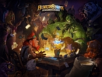 Wallpaper Hearthstone: Heroes of Warcraft.